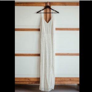 ASOS Floral Embellished Wedding Dress